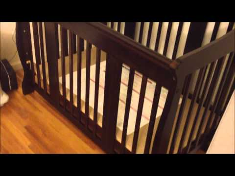 , title : 'Stork Craft Tuscany 4-in-1 Stages Crib Review'
