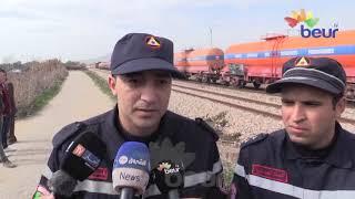 عين الدفلى : وفاة شاب دهسا بالقطار