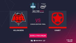 HellRaisers vs Gambit - ESL One NY EU Quals - map3 - de_inferno [Enkanis, yXo]