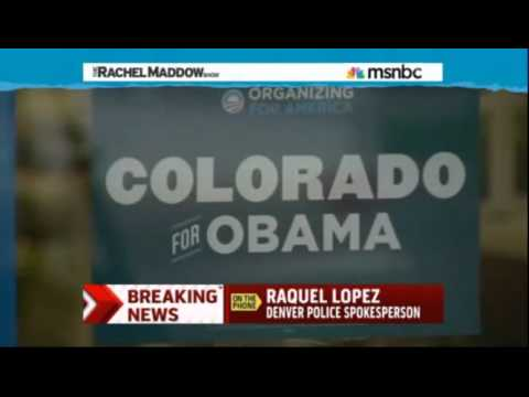 Obama : Shots fired at an Obama Campaign Headquarters in Denver Colorado (Oct 12, 2012)