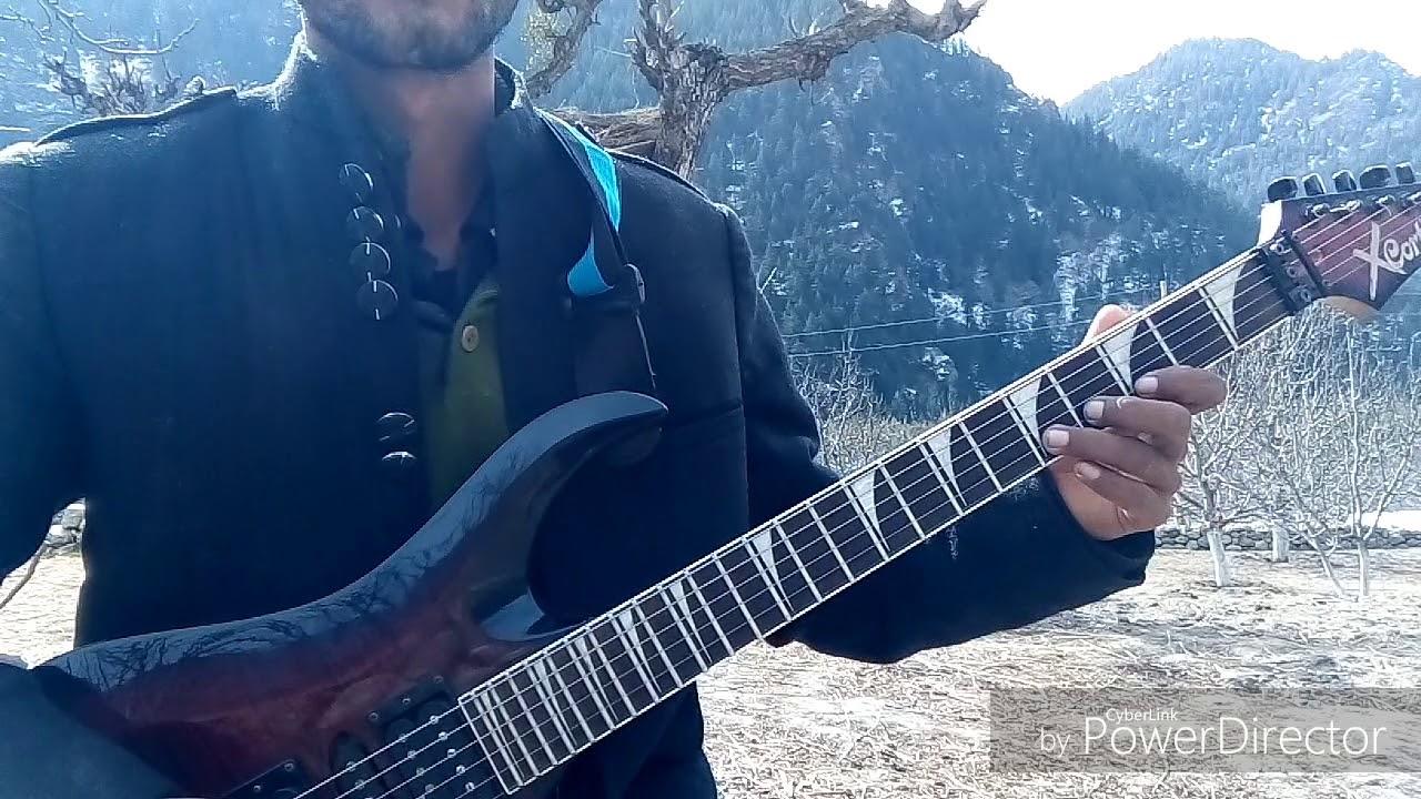 Jiya Dhadak Dhadak Bollywood Song Guitar Cover