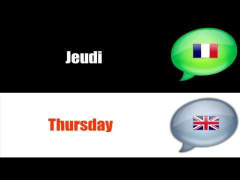 SURVIVAL FRENCH : DAYS