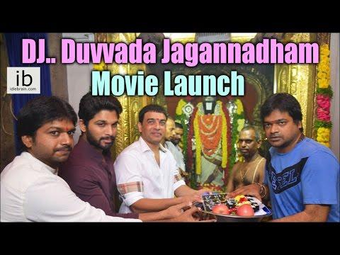 Allu Arjun's DJ.. Duvvada Jagannadham Movie Launch