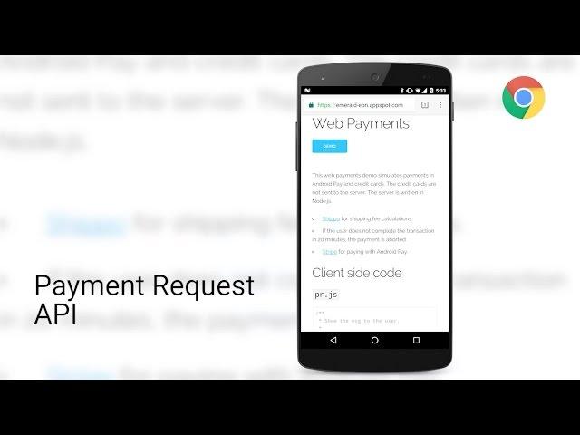 Payment Request API demo