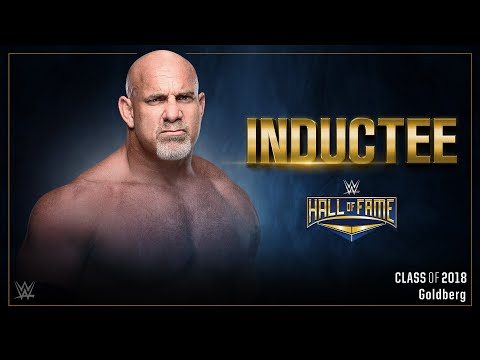 Download Video Goldberg To Enter WWE Hall Of Fame