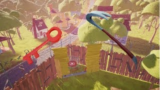 Hello Neighbor Escaping Act 2 all 3 different ways!