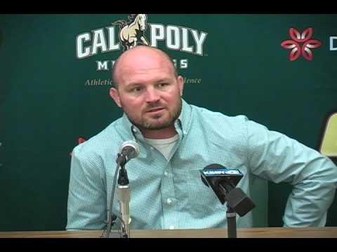 Cal Poly Head Wrestling Coach Jon Sioredas