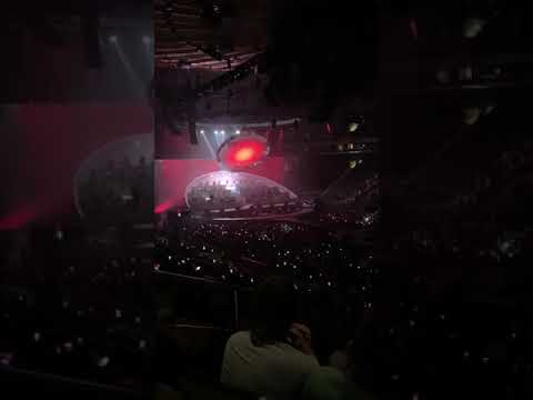"""Michael Buble at Madison Square Garden performing """"Feeling Good"""""""
