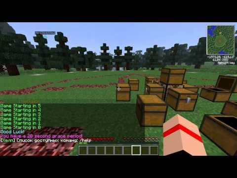 Minecraft -  РЖАЧНЫЙ HUNGER GAMES
