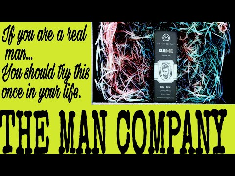 THE MAN COMPANY BEARD OIL REVIEW & UNBOXING VIDEO!!! COMPLETE REVIEW!!! MUST WATCH (2019-20)