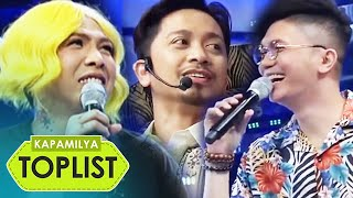 Video Kapamilya Toplist: 10 funniest 'kulitan' moments of Vice, Vhong and Jhong in Its Showtime MP3, 3GP, MP4, WEBM, AVI, FLV Juli 2019