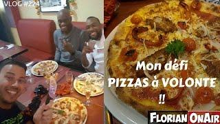 Video Mon défi PIZZAS A VOLONTE - VLOG #224 MP3, 3GP, MP4, WEBM, AVI, FLV Oktober 2017