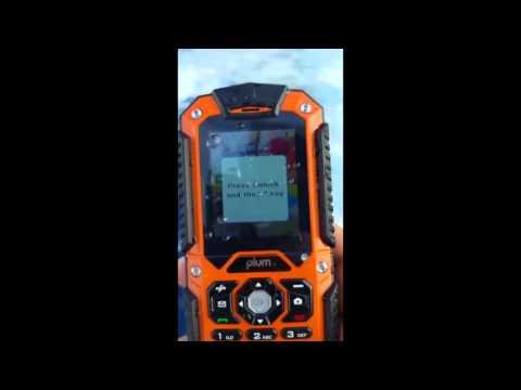 Waterproof Phone Plum Ram E200 Tested in Ocean