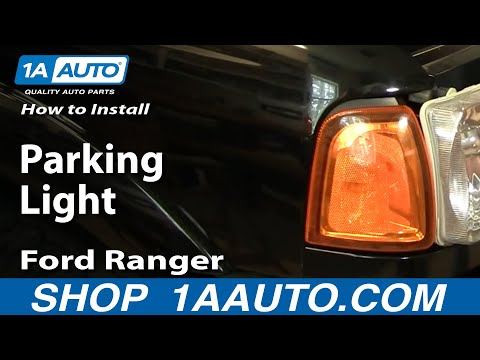 How To Install Replace Parking Light Ford Ranger 01-10 1AAuto.com