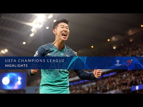 UEFA Champions League | Man City vs Tottenham | Highlights