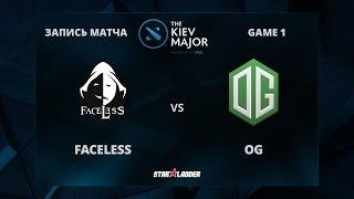 Faceless vs OG, Game 1, The Kiev Major Play-Off Quarter-Final