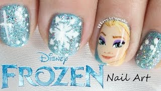 Frozen Nail Art - Elsa - YouTube