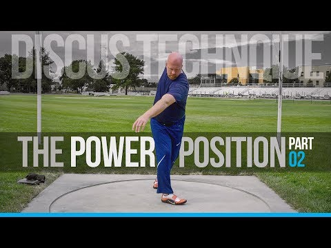 Discus Throw Technique | The Power Position pt. 2