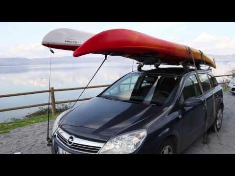 Trasportare kayak marini
