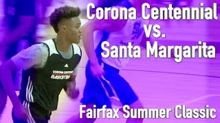 Corona Centennial vs. Santa Margarita at the Fairfax Summer Classic