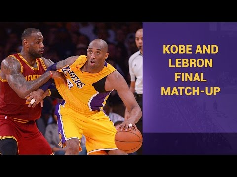 Video: Kobe Bryant & LeBron James After Their Final Matchup