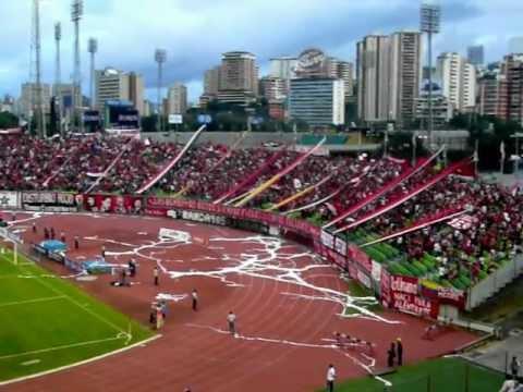 Que te pasa avalancha - La Barra Del Caracas FC (Caracas FC vs carabobo fc) - Los Demonios Rojos - Caracas