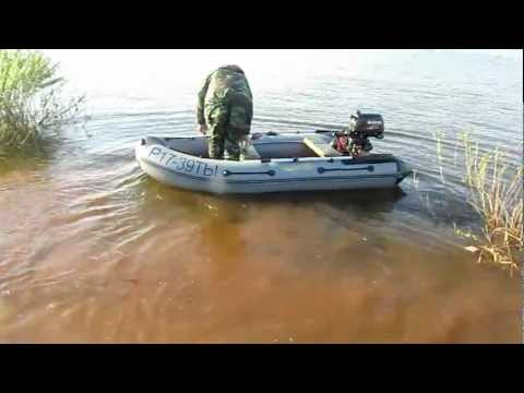 мотор на лодке завести