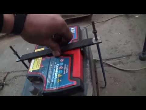 Как сделать крепления для аккумулятора