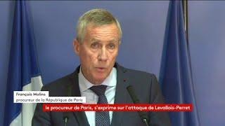François Molins, procureur de Paris, dresse le profil de Hamou B., auteur présumé de l'attaque contre des militaires à Levallois-Perret