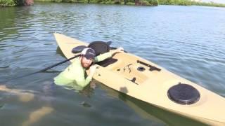 Video How To Re-Enter A Kayak In Deep Water [Standard & Trick Method] MP3, 3GP, MP4, WEBM, AVI, FLV Juni 2019