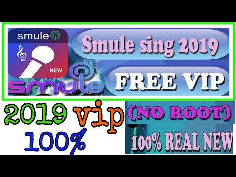 #SMULE SING LASTED VERSION 9.4.1= 2019 VIP 2019