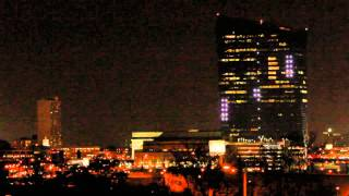 Pong at the Philadelphia Cira Centre - YouTube