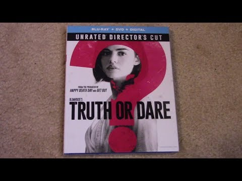 Blumhouse's Truth Or Dare (Unrated Directors Cut) Blu-ray Unboxing