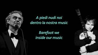 Video Ed Sheeran, Perfect Symphony ft. Andrea Bocelli (lyrics & translate) MP3, 3GP, MP4, WEBM, AVI, FLV Januari 2018