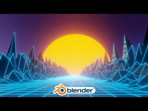 Blender - 80's Style Animation Loop In Eevee