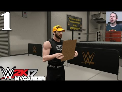 WWE 2K17 My Career - Attack of the Slug (Part #1)
