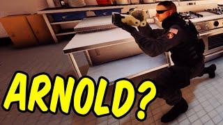 Arnold Schwarzenegger Plays Siege? - Rainbow Six Siege Funny Moments