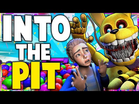 FNAF - INTO THE PIT SONG LYRIC VIDEO - Dawko & DHeusta