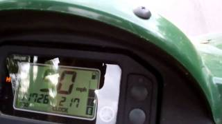 5. 2008 Yamaha Rhino 700 Top speed