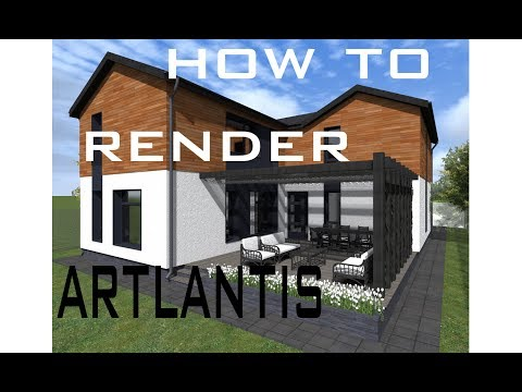 How to Render with Artlantis Studio
