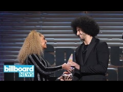 Beyonce Presents Colin Kaepernick With Sports Illustrated Muhammad Ali Legacy Award | Billboard New