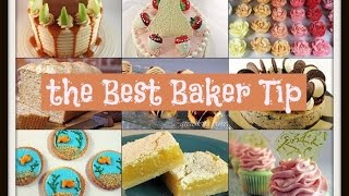 Best Baker Club Tip #10 ~How to cut perfect cake slices by Gretchen's Bakery