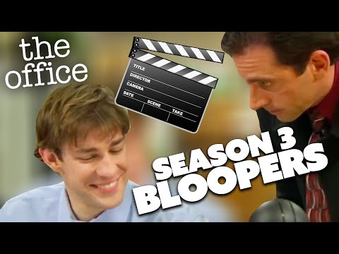Season 3 BLOOPERS   The Office US   Comedy Bites