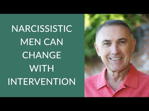 Narcissistic Men Can Change with Intervention