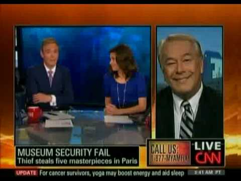 Interview on CNN's American Morning