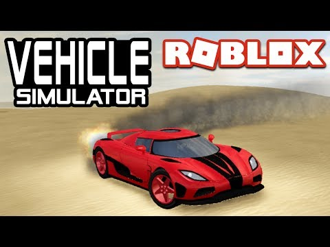 FASTEST ACCLERATION in Vehicle Simulator!  Roblox Agera R
