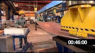 Video The production of a bulbous panel on a Nieland press MP3, 3GP, MP4, WEBM, AVI, FLV Agustus 2018
