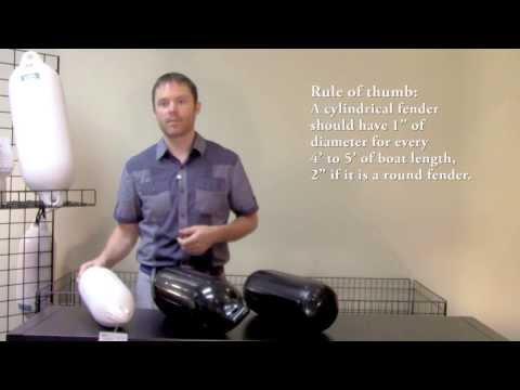 Choosing Fenders for Your Boat