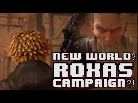Video New World? Roxas Playable CAMPAIGN?! | Kingdom Hearts 3 download in MP3, 3GP, MP4, WEBM, AVI, FLV January 2017