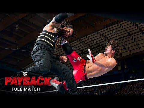 FULL MATCH - Roman Reigns vs. AJ Styles - WWE Title Match: WWE Payback 2016